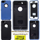 """NEW Otterbox Defender Series Case for Apple iPhone 6+ Plus 5.5"""" Black White Blue"""