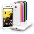 Glossy TPU Gel Case for Motorola Moto E 2nd Gen XT1524 Skin Cover + Screen Prot