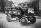 VINTAGE OLD ANTIQUE Coca Cola Delivery Truck Sales Advertising PIC Photo RARE $3.77  on eBay