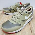 Nike Air Max 1 LTR Dark Dune Light Bone Mens Running Shoes with some stain