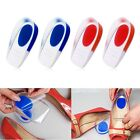 Heel Support Pad Cup Gel Silicone Shock Cushion Orthotic Insole Plantar Fasciiti