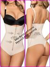 Control Body-Thong Shaper With Zipper, Firm Compression, Faja Colombiana Z24