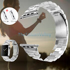 Stainless Steel Band Strap w/Clasp for Apple Watch/Sport/Edition 42mm/38mm
