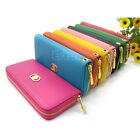 Fashion Hot Women PU Leather Wallet Zip Around Case Purse Lady Long Handbag Bag