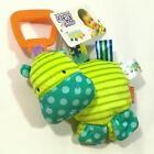 Taggies Bright Starts Baby Flutter Squeaky Rattle Playmat Stroller Crib Bed Toy