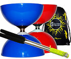 Big Top JUMBO Ball Bearing Diabolo Set + Aluminium Diabolo Sticks, String & Bag