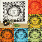 LARGE SELECTION - SUN MOON Tapestry QUEEN Bedspread Hippie Picnic Beach Blanket