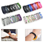 New 7x L/S Replacement Wrist Band Wristband For Fitbit Flex Bracelet with Clasps