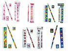 STATIONERY SET 4 Pieces CHOICE OF PACKS Loot/Party/Filler Pencil/Eraser/Ruler+