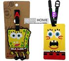 SPONGEBOB CARTOON DISNEY KIDS Travel Luggage Tag School Bag Silicone NEW PATRICK