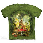 NEW TOADSTOOL FAIRY The Mountain T Shirt Elf Mushroom Elemental Hippy Adult Szs