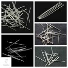 Flat Head Pins Silver Colour 20mm 30mm 40mm 50mm 60mm 70mm
