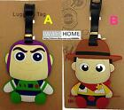 TOY STORY Buzz CARTOON DISNEY KIDS CARD Travel Luggage Tag School Bag Silicone