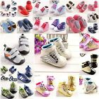 Fashion Non-slip Sneaker Baby Boy Girl Shoe Toddler Infant Newborn 3 Sizes #FK33