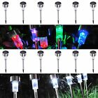 6x Solar Garden Outdoor Light LED Power Yard Path Fence Lawn Landscape Lamp Opt