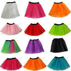3 LAYER NEON TUTU SKIRT 1980S 80S FANCY DRESS HEN NIGHT RAVE