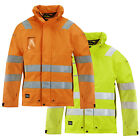Snickers Hi Vis Gore-Tex Shell Work Jacket. Wind & Waterproof. Class 3 - 1683