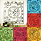 LARGE SELECTION - QUEEN INDIAN HIPPIE MANDALA TAPESTRY BEDSPREAD Beach Dorm Deco