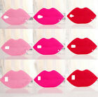 New 3D Fashion Sexy Red Lips Kiss Soft Back Case Cover For Samsung S4/S5/S6