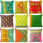 "LARGE SELECTION of 16"" COLORFUL CUSHION PILLOW THROW COVER ECLECTIC Decorative"