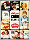Kelloggs Classics set of 9 mini fridge magnets   (na)