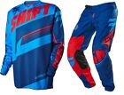 NEW 2016 SHIFT RACING ASSAULT MX DIRT BIKE MOTOCROSS GEAR COMBO BLUE ALL SIZES
