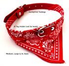Dog+Bandana+Collar-+Adjustable+Cat+Pet+Neckerchief-+5+Sizes%26+7+Colours+Available