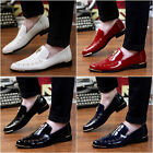 2015 New Fashion Korean Men's Wingtip Shoes Lace Up Flats Business Loafers T449