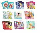 20 LUNCHEON NAPKINS - DISNEY PRINCESSES Designs (Tableware/Party/Kids/Birthday)