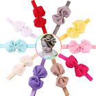 Baby Headbands Girl Infant Bowknots Head Band Bow Hair Accessories Photo Props
