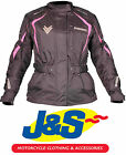 FRANK THOMAS FTW706 COMET LADIES MOTORCYCLE JACKET MOTORBIKE WOMENS PINK J&S
