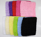 Hot Stretch Crochet Tube Top Headband Hairband Waistband Tutu Supplies