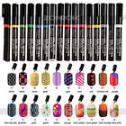 Candy Color Nail Art Pen Painting Design Tool Drawing Gel Easy Made 16 colors