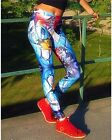 Graffiti Beasts Sports Yoga Running Gym Print Leggings Mr.Dheo Barcelona