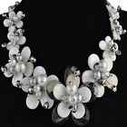 19 inches Women Jewelry making Design DIY necklace mother of pearl pendant beads