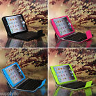For iPad Mini 3/2/1 Wireless Bluetooth Keyboard Stand Folio Leather Case Cover