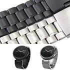 Stainless Steel Strap Replacement Band + Tools For Motorola Moto 360 Smart Watch