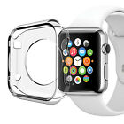 Cystal Clear Slim Thin Hard Snap On Case Cover For Apple Watch iWatch 38MM 42MM
