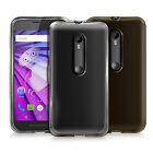 GEL CASE SKIN TPU COVER FOR NEW 2015 MOTO G3 G 3