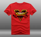 2016 Game Street Fighter 5 Short Sleeve 100% Cotton O-Neck T-shirts Tees Tops