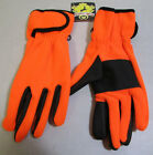 Jacob Ash Men's Razorback Fleece Hunting Gloves Blaze Orange 25-698-IO NEW