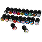 Acrylic Barbell Ear Stud Fake Plug Earring Stretcher Expander 20 Styles 1pc