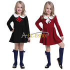 Kids Toddler Girl Top Shirt  Tutu Cotton Vintage Party Dress Skirt Clothing 2T-6