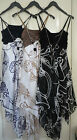 Ladies Hankerchief  Dress 3 Colours  Great for  Summer / Holidays  New