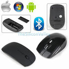 Bluetooth Wireless Optical Mouse Mice Ultra for Windows 7/8 Android Macbook