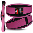 Weight Lifting Belt Gym Fitness Exercise Neoprene Back Support Workout Ladies
