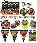 THE MUPPETS PARTY RANGE (Tableware/Banners/Balloons)