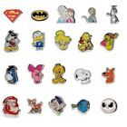 Characters floating charms - fits living memory lockets necklaces and pendants