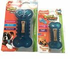 NYLABONE ROMP N CHOMP FILL N FREEZE REFILLABLE DOG PUPPY WOLF PETITE TREAT TOY