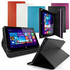 "LUXFOLIO STAND LEATHER CASE WALLET FOR LINX 810 8"" TABLET"